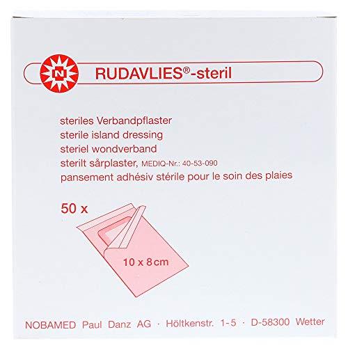 Rudavlies Steril – steriles Pflaster zur Wundversorgung 10 cm x 8 cm (50 Stück)