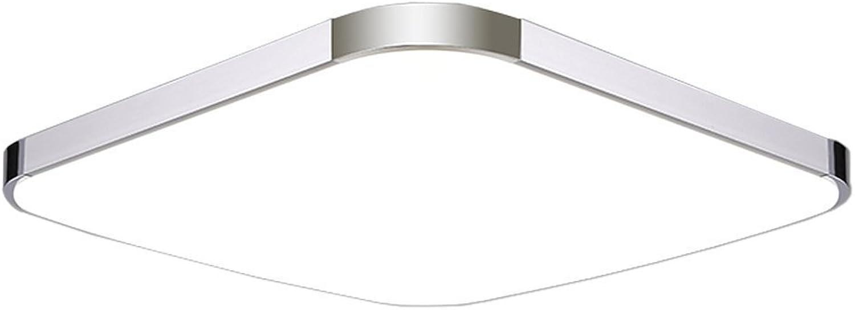 MCTECH 64W Kaltwei Deckenleuchte Modern Deckenlampe Flur Wohnzimmer Lampe Schlafzimmer (64W Kaltwei)