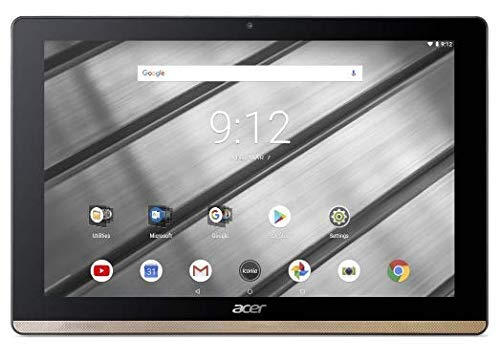 Acer Iconia One 10 B3-A50FHD 10.1-Inch Tablet-PC - (Gold) (Intel Atom MT8167A Processor, 2 GB RAM, 16 GB eMMc, Android 7.0) (Renewed)