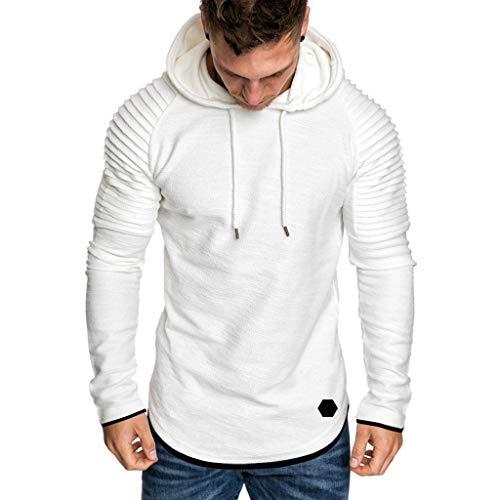 UINGKID Herren Pullover Hoodie Sweatshirt Langarm Herbst Winter Freizeit s Top Bluse Trainingsanzüge