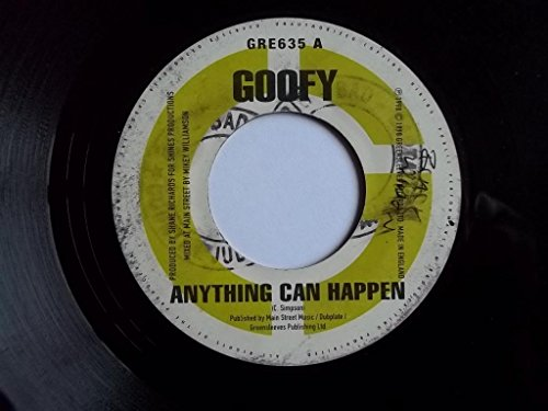 """GOOFY Anything Can Happen / ALLEY CAT Lego From Yah So 7"""" vinyl"""