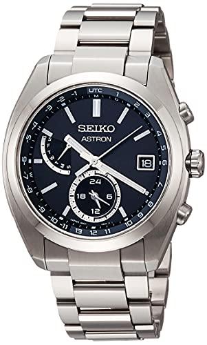 [セイコーウオッチ] 腕時計 アストロン ソーラー電波ライン SBXY015 メンズ シルバー