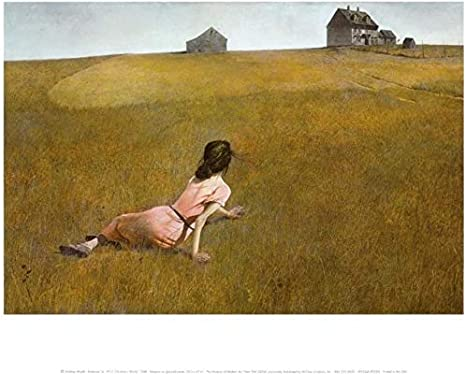 Amazon Com Christina S World By Andrew Wyeth Barn Country Scene Realism Landscape Nature Print Poster 27x36 Posters Prints