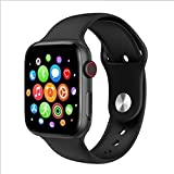 UD Gadgets - T500 Smart Watch Bluetooth Phone Watch T500 Bluetooth Call Smart Watch ECG Heart Rate Monitor Smartwatch for Android iOS (Black)