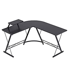 "Large Size & Ample Space: Overall dimensions are 51""(L) x 51""(L) x 18.2(L) x 29.5""(H), plenty of leg room for rest and for storage. This L shaped gaming desk includes necessary tools and instructions, please follow the installation instructions steps..."