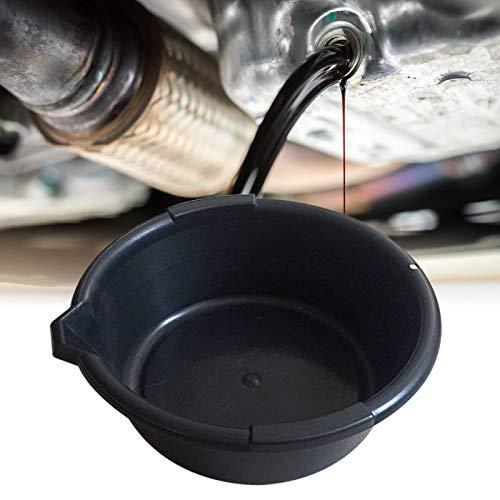 Ölauffangwanne mit Ausgießer, 6 Liter Fassungsvermögen, Ø 32cm, Ölauffangbehälter
