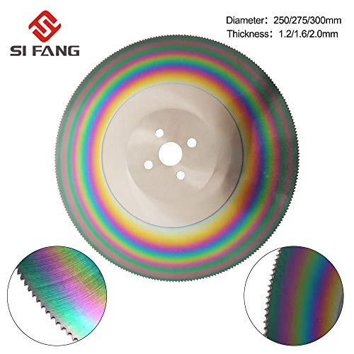 Purchase Xucus 10'' High Speed Steel Circular Saw Blade 250mm/275mm Cutting Disc For Stainless Steel...