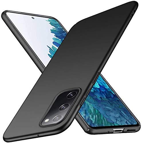 NEINEI Funda para Samsung Galaxy A22 4G,Carcasa Anti-arañazos y Antideslizante Protectora Sedoso Caso,[Ultra-Delgado] [Ligera] [Mate],PC Shockproof Case Cover,Negro