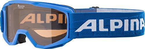 ALPINA PINEY Skibrille, Kinder, blue, one size