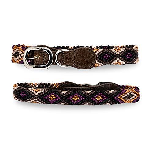 GUAYABAL Premium Hundehalsband | Exklusives Modell: Canela XXS | Handgefertigte Hundehalsbänder für kleine, mittelgroße und große Jungen und Mädchen Hunde