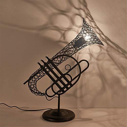 NBLYW E27 industriële antieke saxofoon vintage bureaulamp nostalgie creatieve persoonlijkheid woonkamer slaapkamer eetkamer café decoratie