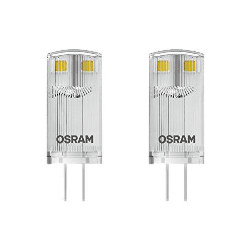 Osram LED Star Special Pin/LED - Leuchtmittel, mit G4-Sockel, nicht dimmbar, Ersetzt 10 Watt, Klar, Warmweiß - 2700 Kelvin, 2er-Pack