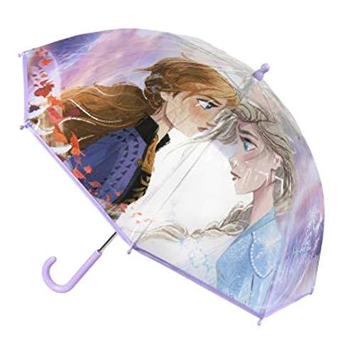 Bevroren Ana Elsa Paraplu Tassen & Accessoires Synthetisch Materiaal Paraplu's Paars