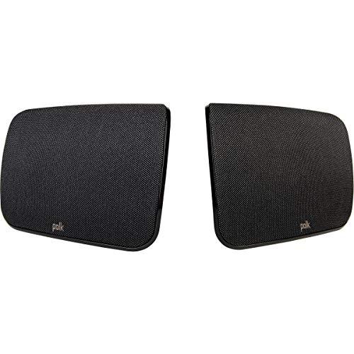 Polk Audio SR1 Surround Lautsprecher für Magnifi Max Soundbar, 35 Hz - 20000 Hz, Schwarz