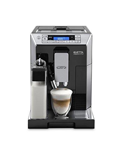 【最上位モデル】デロンギ コンパクト全自動コーヒーマシン エレッタ カプチーノ トップ ブラック 4カップ以下 ECAM45760B