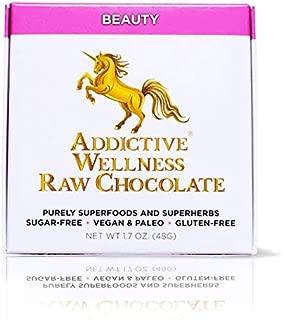 Addictive Wellness Sugar-Free Raw BEAUTY Chocolate 3 PACK Vegan & Paleo- Purely Superfoods and Superherbs