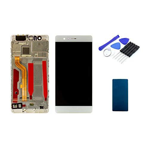 kaputt.de Display weiß (5,2 Zoll) für Huawei P9 | IPS LCD Bildschirm inkl. DIY Reparatur-Set