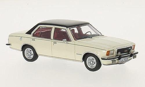 Opel Commodore B GS E, Weißs Schwarz 1973, Modellauto, Fertigmodell, Neo 1 43