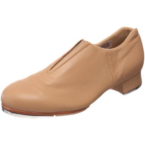 Bloch womens Tap-flex Slip on dance shoes, Tan, 6.5 US