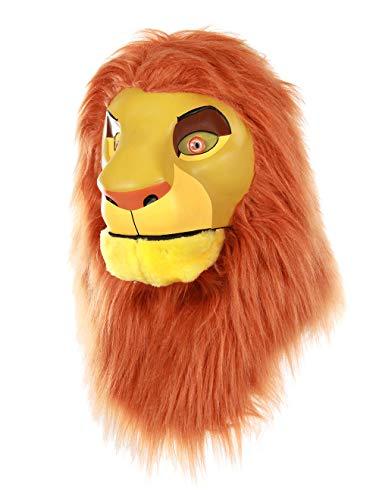 Disney El rey León Simba - Máscara para mover la boca - marr�n - talla única