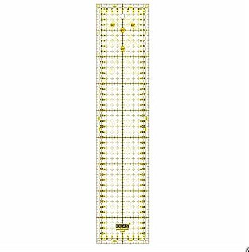 Regla para Patchwork 10x45 centímetros