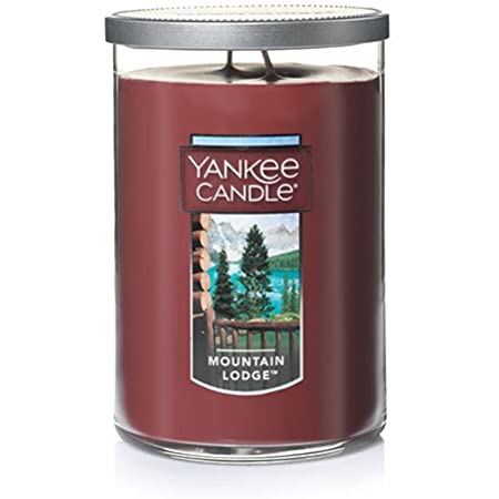Green Lodge Forest Yankee Candle Mountain Pine Large Jar 22oz NEW