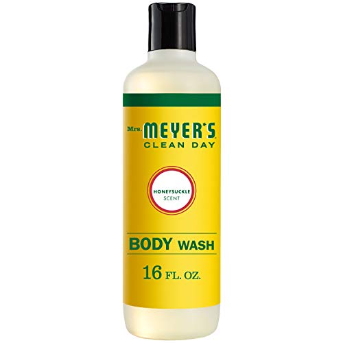 Mrs Meyer#039s Clean Day Moisturizing Body Wash Cruelty Free and Biodegradable Formula Honeysuckle Scent 16 oz