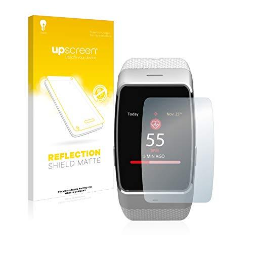 upscreen Entspiegelungs-Schutzfolie kompatibel mit MyKronoz ZeWatch 4 – Anti-Reflex Bildschirmschutz-Folie Matt