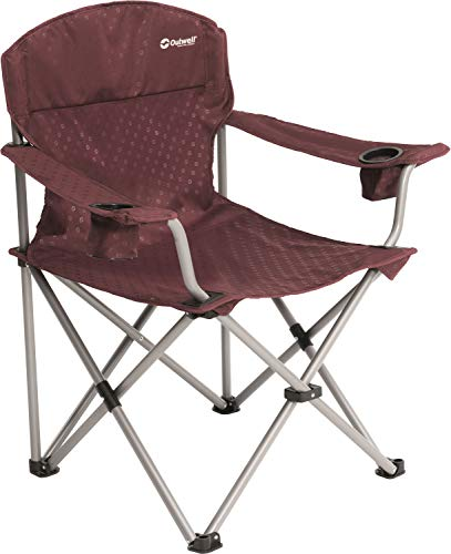 Outwell 470317 Camping-Chair 4 Beine/Beine, Rot, Silber