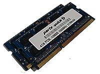 8GB キット (2 X 4GB) メモリ Acer Aspire E1-521-0851 DDR3L PC3L-12800 SODIMM RAM (PARTS-QUICK BRAND) 用