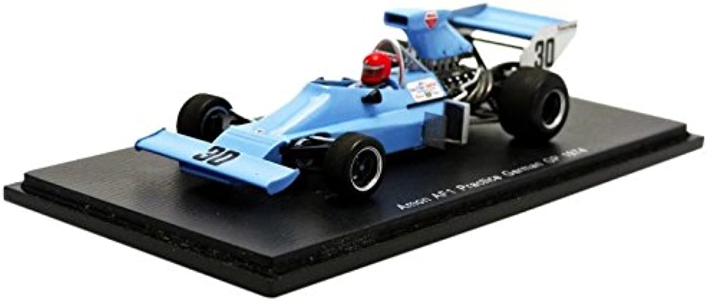 Spark S3540–Amun AF101–GP Germany Practice–1974–1 43–Blau