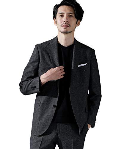 [ナノユニバース] 動けるスーツ DRAGO フランネル ジャケット メンズ