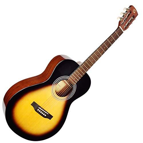 Soundsation Delta Crossroad-SGSB - Guitarra acústica Parlor brillante Glossy Sunburst