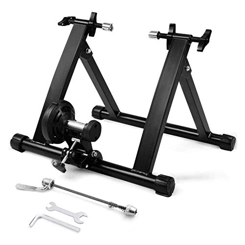 CRXL shop-Electric Blankets Fluid Bike Trainer Stand, Indoor Turbo Trainers With Variable Resistance, Noise Reduction, Folding Bicycle Training Stand For Mountain Bikes (Size : 27.5-29'' wireless)