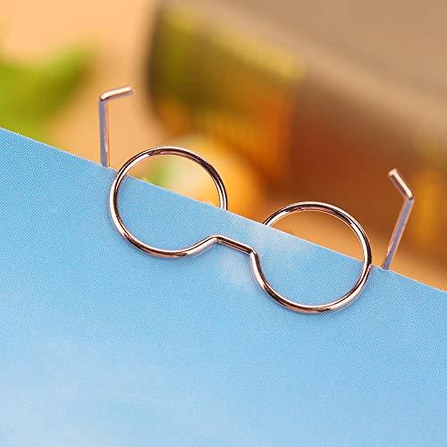 Clips de marcador Durable Excelente 10 Uds Tarjeta de organización Clasificación de archivos Recoger fotografías postales Clip de papel de oficina