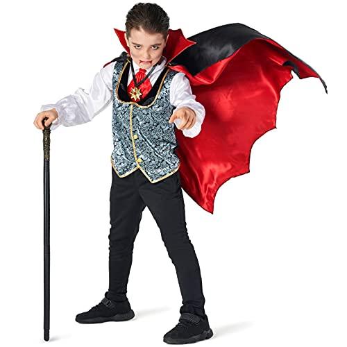 Morph Costumes Kids Dracula Vampire Gothic Costume Boys Spooky...