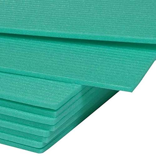 80 m² Trittschalldämmung Dämmung 3mm - XPS Green Boden für Laminat Parkett