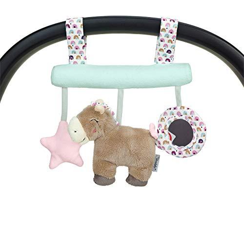 Sterntaler 6602003 Spielzeug zum Aufhängen mit Klettverschluss, Pony Pauline,...