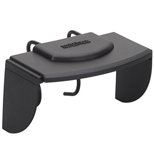 Wicked Chili verblindingsbescherming/zonnedak XL voor navigon/tomtom/Becker/Falk/Garmin navigatieapparaat (zonnevizier zonneklep voor navigatiebreedtes van 118 tot 157 mm/Made in Germany) zwart, 118-157 mm breedte