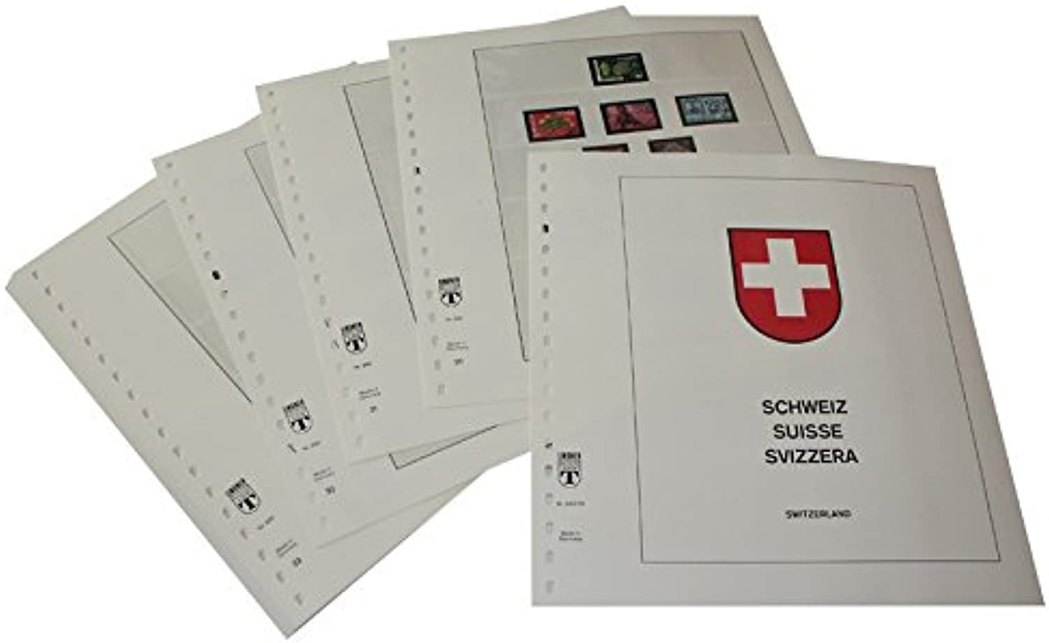 Lindner T260 76 Switzerland w o int. Organisations Year 1976 to 1984