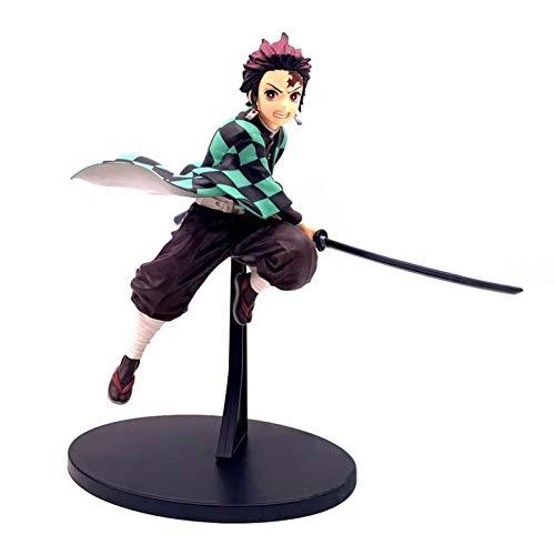 Figurine De Démon Slayer Kamado Tanjirou, Figurine d'action Kimetsu No Yaiba Tanjiro Kamado, Modèle De Figurine D'anime Japonais, Cadeaux De Décoration De Tueur De Démons Réalistes en PVC