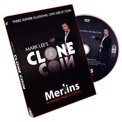 Clone Coin - Euro Coin (With DVD) by Mark Lee - Trick