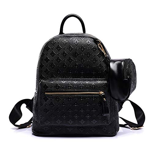 COOFIT Womens Backpack Fashion Elegant School Backpack Travel Backpack with Pouch