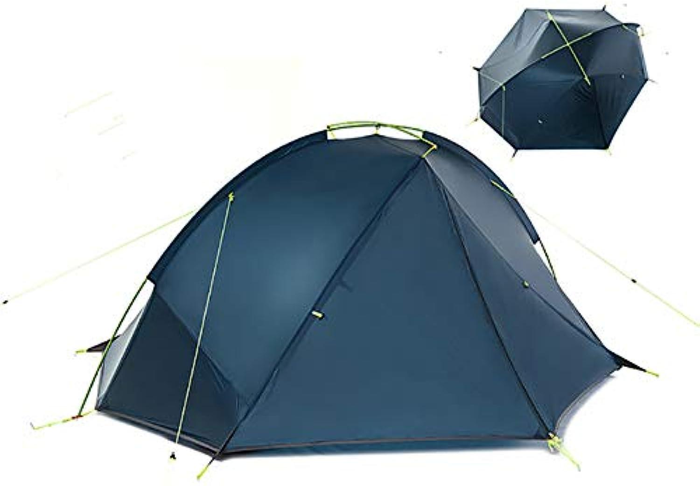 BUYGLI Tent 2 Personen Ultralight Camping Zelt Barraca de Acampamento
