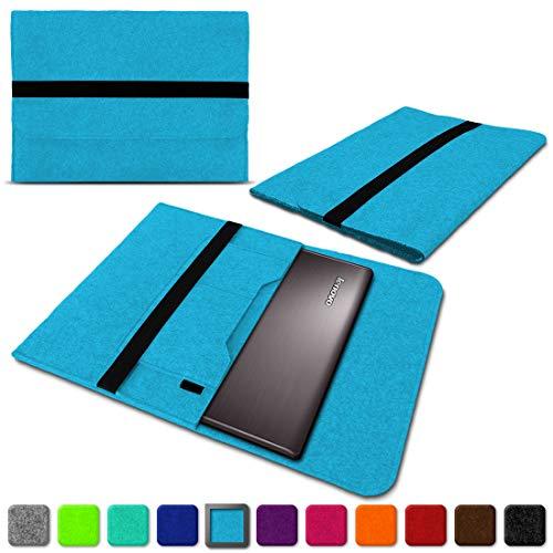 NAUC Lenovo Thinkpad Yoga 370 Tasche Hülle Filz Sleeve Case Schutzhülle Notebook Cover, Farben:Türkis