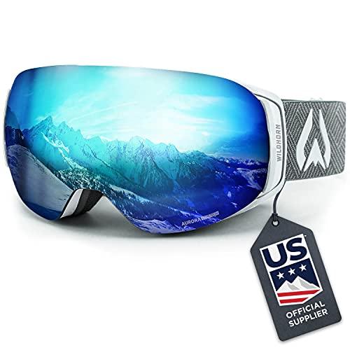 WILDHORN Roca Snowboard & Ski Goggles - US Ski Team Official Supplier -...