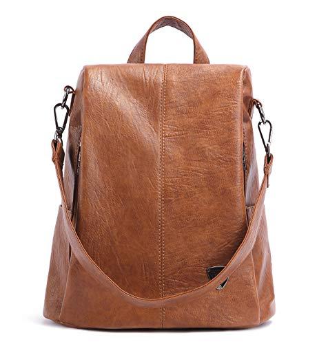 Lady Bag - Portafoglio in pelle, da donna, design anti-furto, impermeabile, borsa da spalla in poliuretano, borsa da viaggio