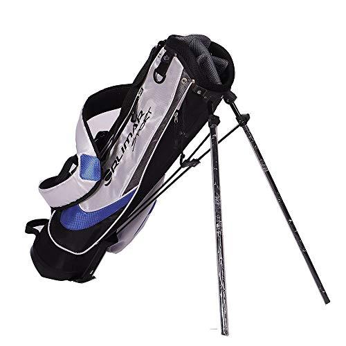 Outdoor sports Golf Stand Bag, Kinder tragen leichte, tragbare Golfbag, Stabile Golftasche mit großer Kapazität, Für Kinder, Jugendliche, Anfänger