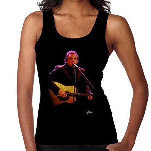 Tony Mottram officiële fotografie - Johnny Cash spelen gitaar vrouwen Vest