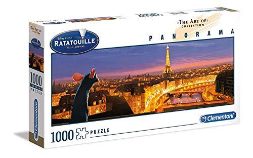 Clementoni- The Art of Disney Puzzle Panorama-Cars-1000 Pezzi, Multicolore, 39487